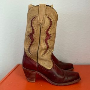 Frye cowgirl boots sz8.5